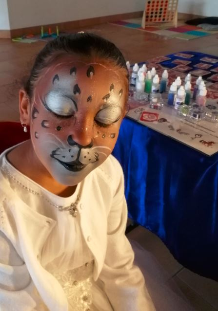 felin guepard panthere maquillage enfant