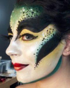 maquillage-beauté-artistique-oiseau