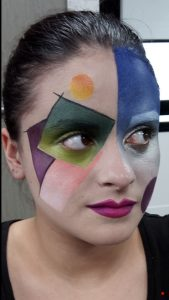 Maquillage-geometrique