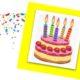 gateau anniversaire bougies
