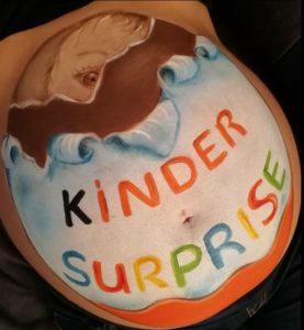Belly kinder surprise