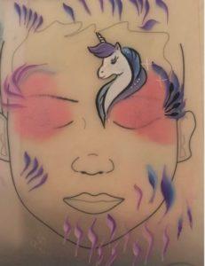 licorne one stroke makeup